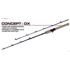 Vara Maruri Concept DX – CTX-C401ML – 7-14lb – 1 Parte - Carretilha