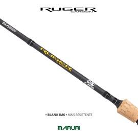 Vara Maruri Ruger – RU-S661H – 12-25lb – 1 Parte - Molinete