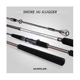 """Vara Maruri Shore Jig Slugger 80CAXH 8'0""""(2,40m) 30-60lb (Carretilha) 2 Partes"""