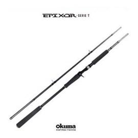 """Vara Okuma Epixor SERIE-T EPI-C-802XH-FG 8'0""""(2,40m) 30-60lb (Carretilha) 2 Partes"""