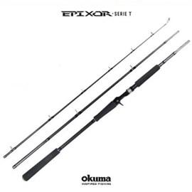 """Vara Okuma Epixor SERIE-T EPI-C-833XHA - 40-80lb 8'0"""" (2,40m) – 3 Partes - P/ Carreilha"""