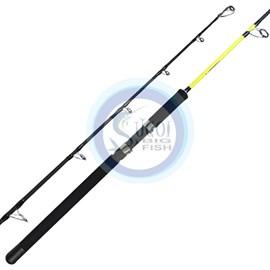 """Vara Pesca Brasil Millenium Carbon MC-M661 - 6'6""""(1,98m) - 30-80lb(36,2kg) - 1 Parte - P/molinete"""