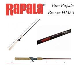 Vara Rapala Bronze HM30 (Carretilha)