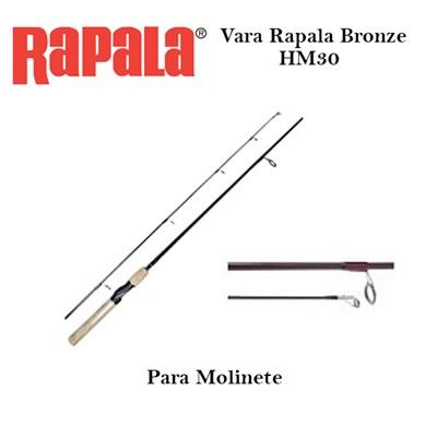 VARA RAPALA BRONZE HM30 -  MOLINETE