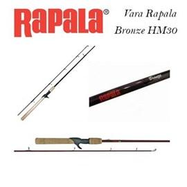 "Vara Rapala Bronze RPBB53CM - 5'3"" - 8-17lb - 1 Parte - p/carret"