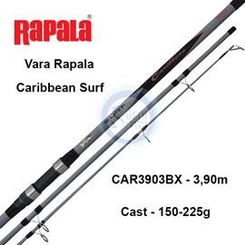 Vara Rapala Caribbean Surf CARBX – 3 Partes – P/ Molinete