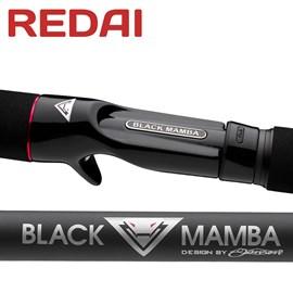 Vara Redai BLACK MAMBA - 5'8'' - BM2S1758 -  10-17lb - p/Carretilha