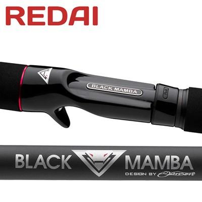 Vara Redai BLACK MAMBA - 6'0'' - BM2S2560 PS -  14-25lb - p/Carretilha