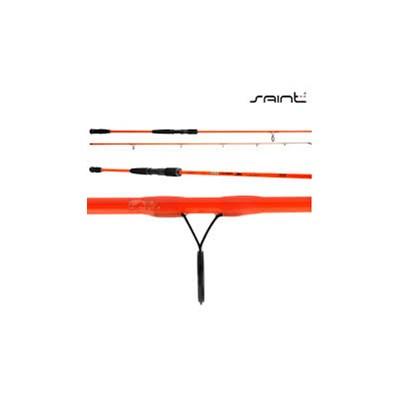 Vara Saint Pro Tamba Orange 2702 9'0''(2,70m) 25-50lb (Molinete) 2 Partes