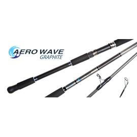 "Vara Shimano AeroWave Graphite Surf 1203 - 12'0"" - (3,66m) - Cast 28-100g - 3 Partes - P/Molinete"