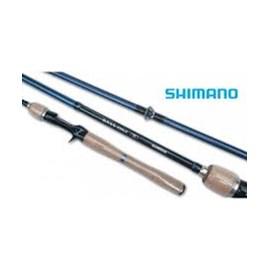 Vara Shimano Bass One R163ML2 - 6'3'' - 8 - 14lb - 2 Partes - p/carret