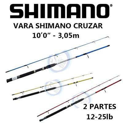 Vara Shimano Cruzar 12-25lb (Molinete) 2 Partes