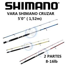 "VARA SHIMANO CRUZAR MOL 5""0 8-16LB"