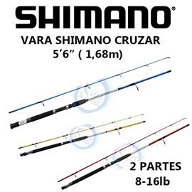 "VARA SHIMANO CRUZAR MOL 5""6 8-16LB"