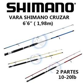 "VARA SHIMANO CRUZAR MOL 6'6"" 10-20LB"