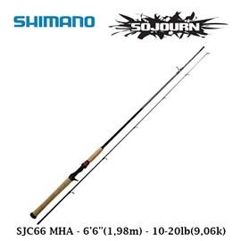 "Vara Shimano Sojourn SJC66MHA - 6'6"" - 10-20lb - 1 Parte - P/Carretilha"