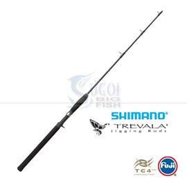 "Vara Shimano Trevala TVC66M - 6'6"" (1,98m) - 30-80lb (36,2kg) - 1 Parte - p/carretilha"