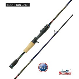 VARA SUMAX SCORPION CARRET VSC-661MC 8-17LB