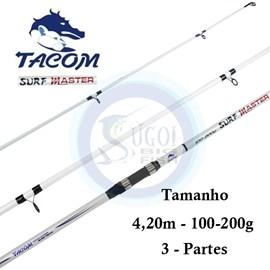 Vara Tacom Surf Master (Molinete) 3 Partes