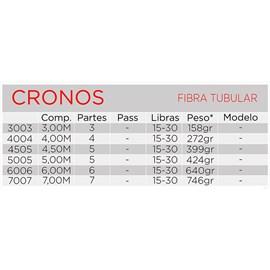 Vara Telescópica Albatroz Cronos